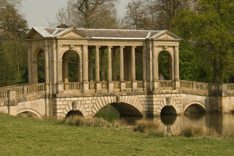Figure on the Palladian Bridge, Stowe