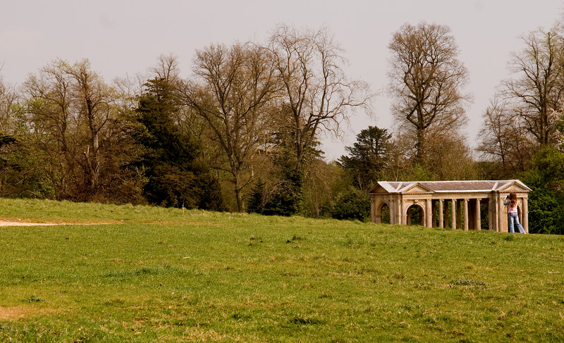 Stowe: photographing the Palladian Bridge