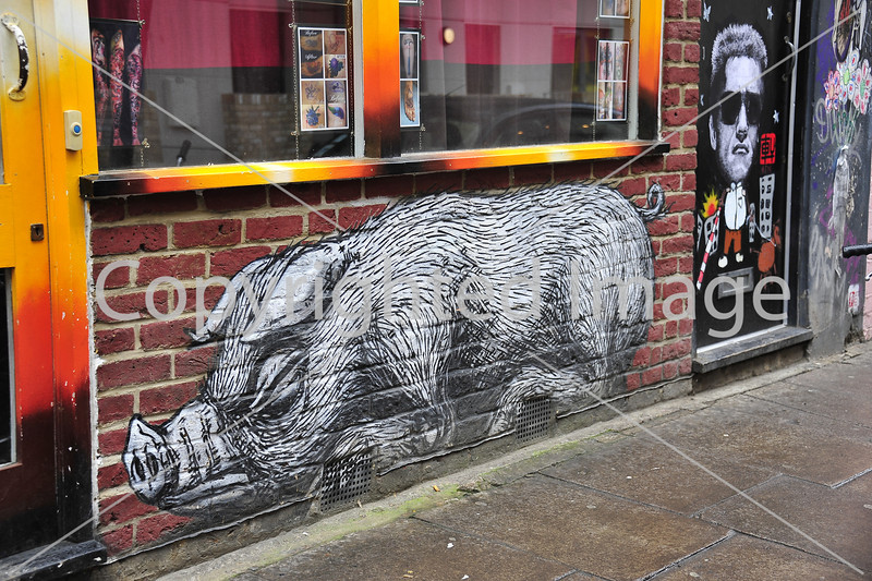 Pig by Roa
