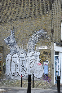 Defaced Rabbit by Roa