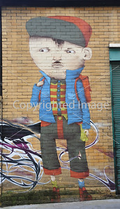 Boy on a wall