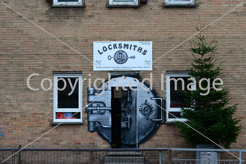 Locksmith's Shop in the East End