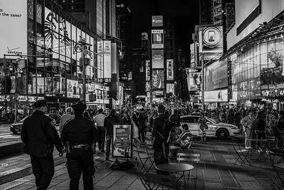 New York by night - Times Square
