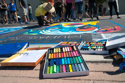 What's a Chalk Festival without chalk.
