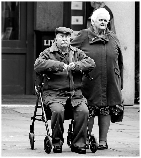 Stately Couple - Covent Garden London