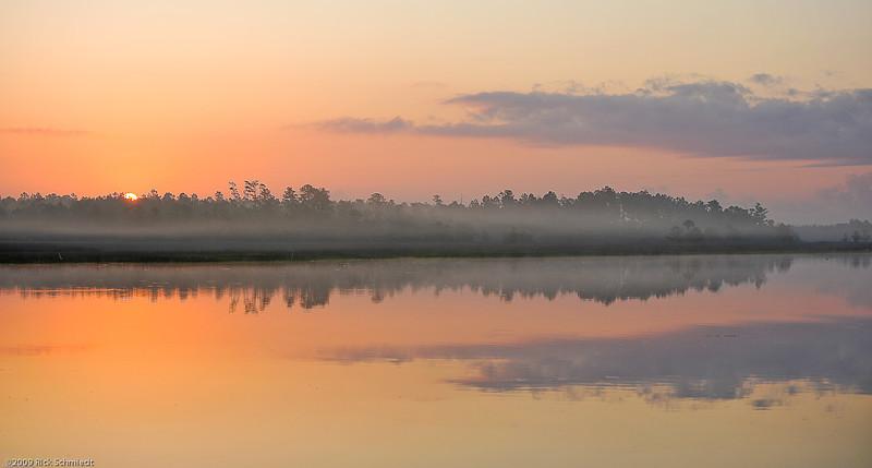 Sunrise on Beresford Creek