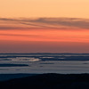 Maine Coast Sunset from Cadillac Mountain, Maine
