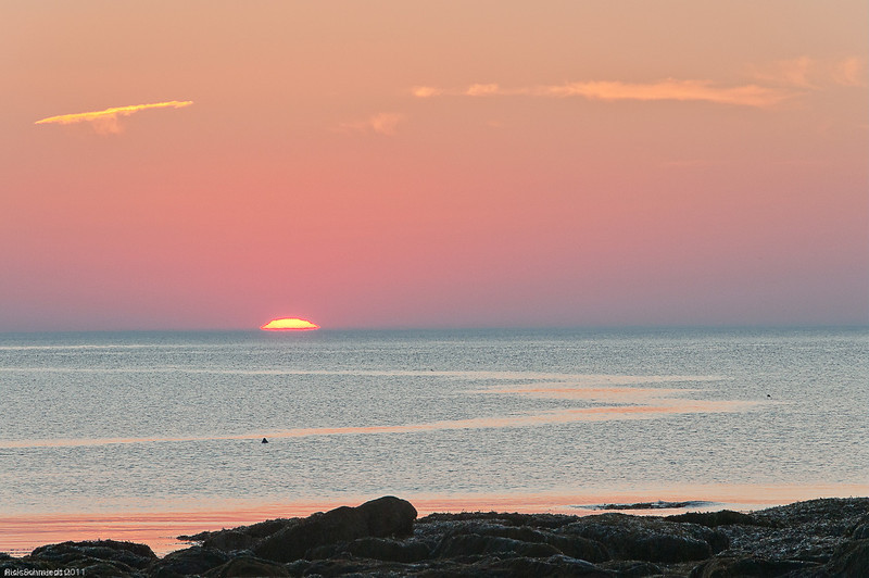 Sunrise at Stony Beach, Southwest Harbor, Maine III