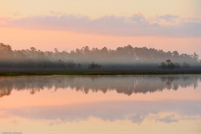 Beresford Creek Predawn Reflections