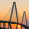 Ravenel Bridge Sunset II