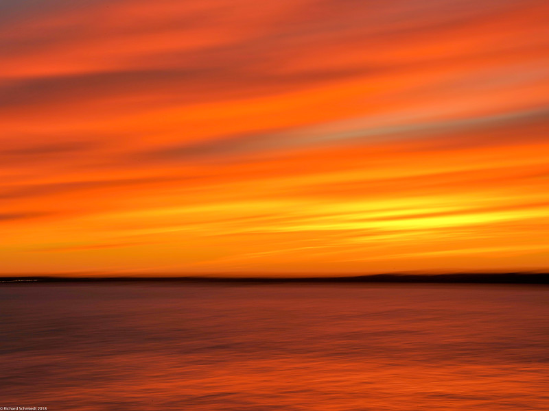 Narragansett Sunset Blur