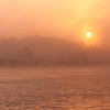 Beresford Creek Fog Lift