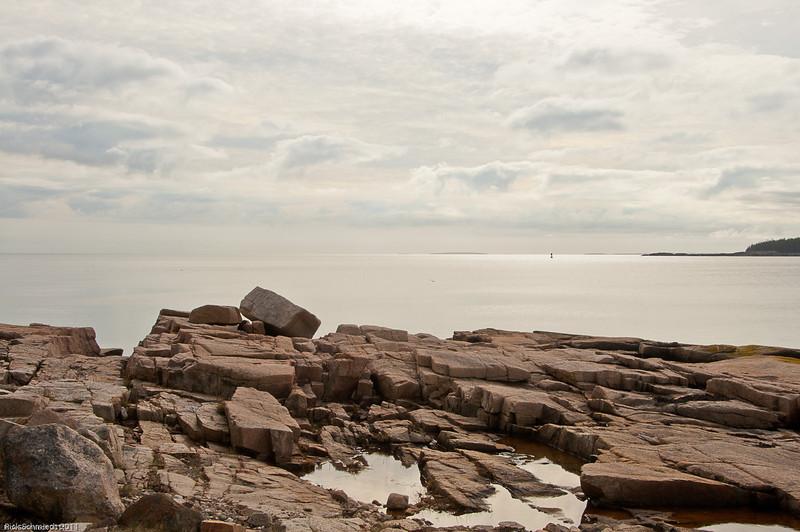 Schoodic Rocks and Horizon