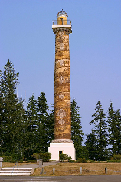Astoria, Oregon - Pacific Northwest Historical Column,