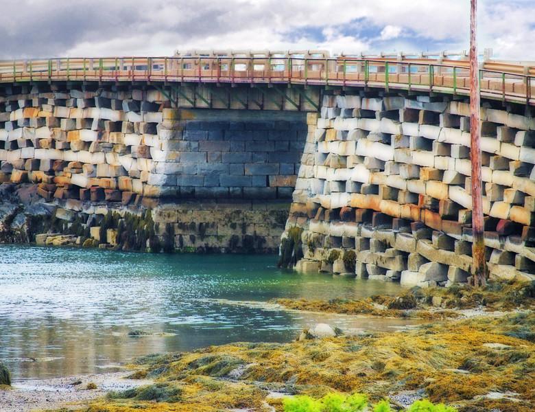 Cribstone Bridge<br /> Bailey Island, Maine