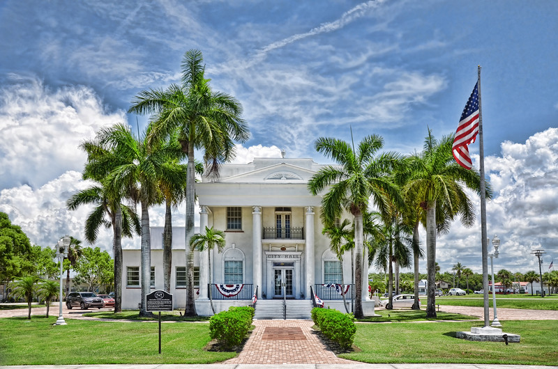 Original Collier County Courthouse