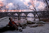 James River Railroad Trestle - Richmond VA - Feb 2008