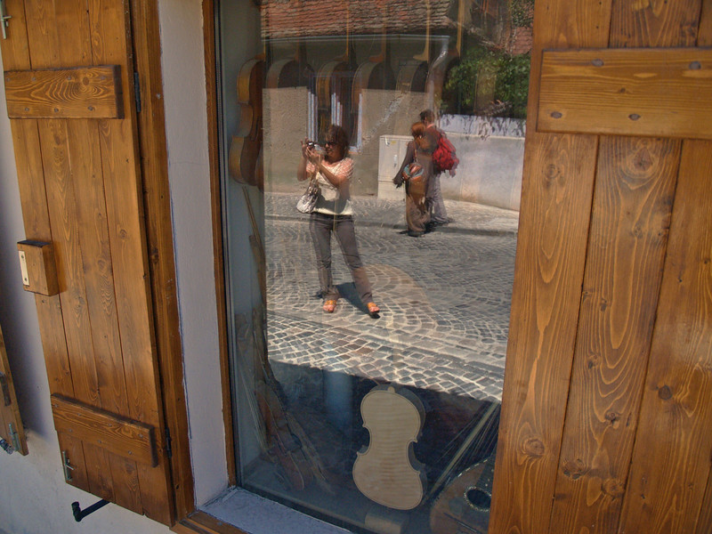 Violin Maker's Shop - Sibiu, Romania