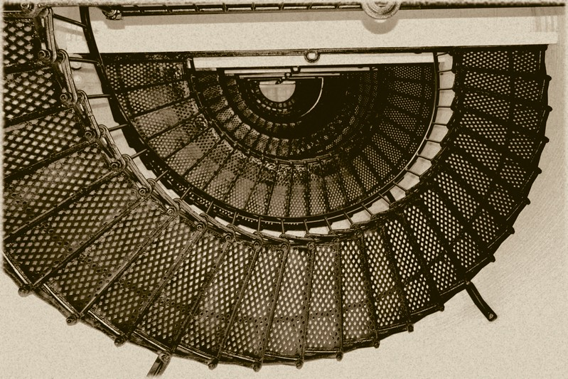Copy of Sepia Stairway