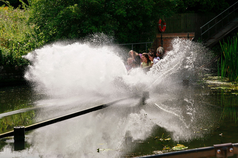 Wicksteed Park Water Shoot
