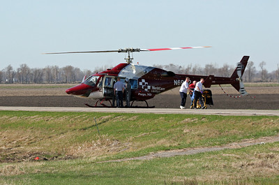 Medevac from the back roads...