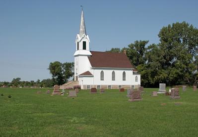 Walla Lutheran Church - New Effington SD.