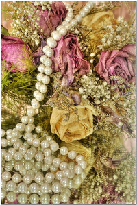 A former wedding bouquet