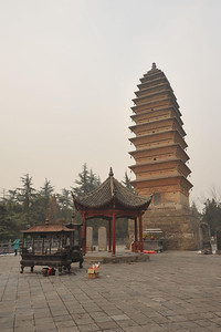 Qiyun Pagoda, Baima Si, Luoyang