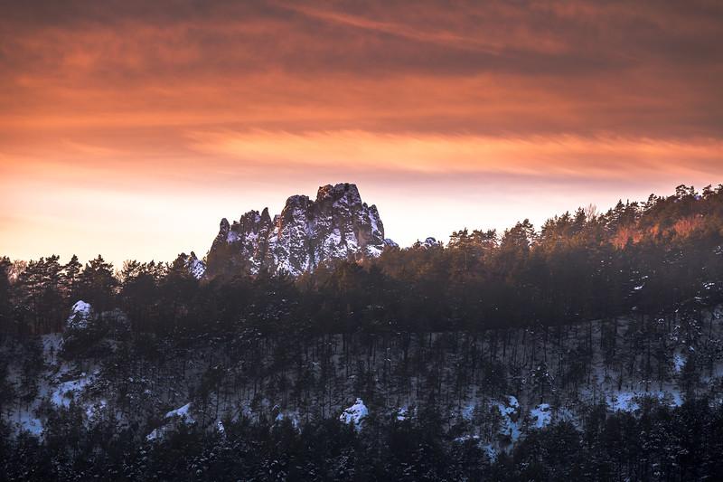 Sunset on Sulov