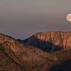 Moonrise over Fool Hen ridge