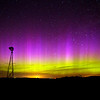 The northern lights on a late spring night in Minnehaha County.