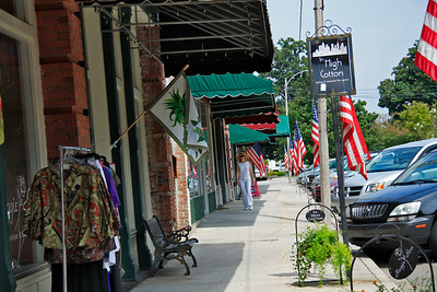 Town Square shops in downtown Summerville