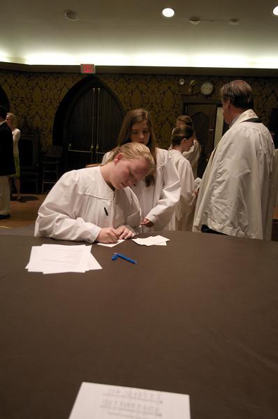 Christ Church Confirmation Class 2010   23805