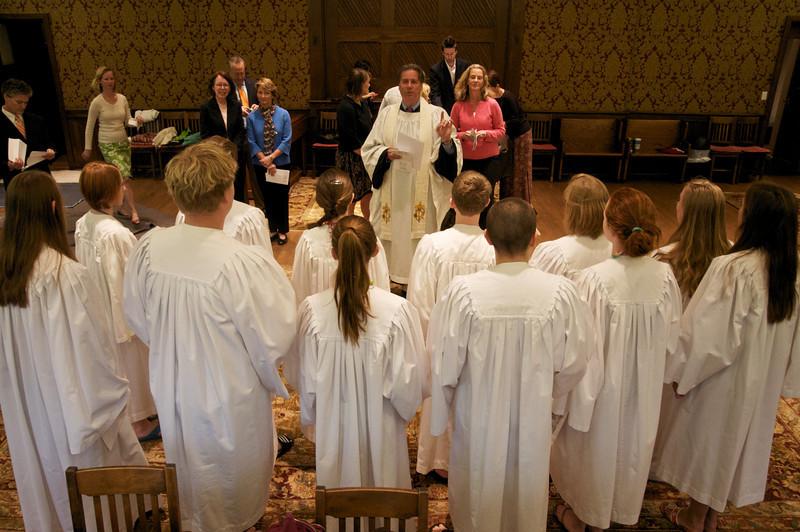 Christ Church Confirmation Class 2010   23826