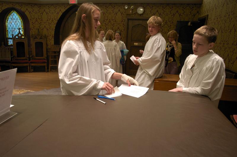 Christ Church Confirmation Class 2010   23781