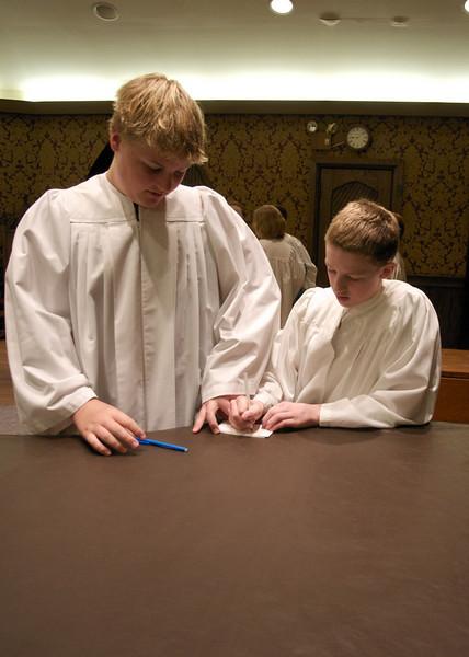 Christ Church Confirmation Class 2010   23782