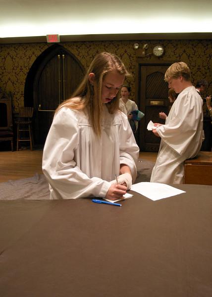 Christ Church Confirmation Class 2010   23780