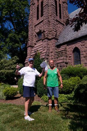 Christ Church Memorial Garden Progress
