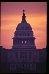 Captial Closeup (500mm lense), Sunrise, Washington, DC, USA