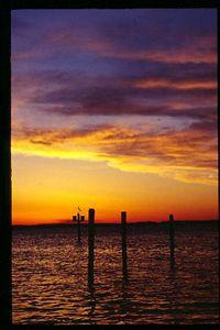 Sunrise, Chesapeake Bay, Maryland, USA