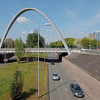 Hulme Arch Bridge, Perspective 2