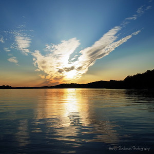 Tennessee River Sunset