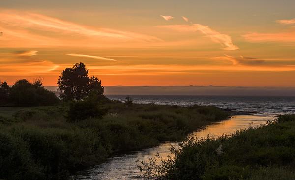 Morse Creek Sunset