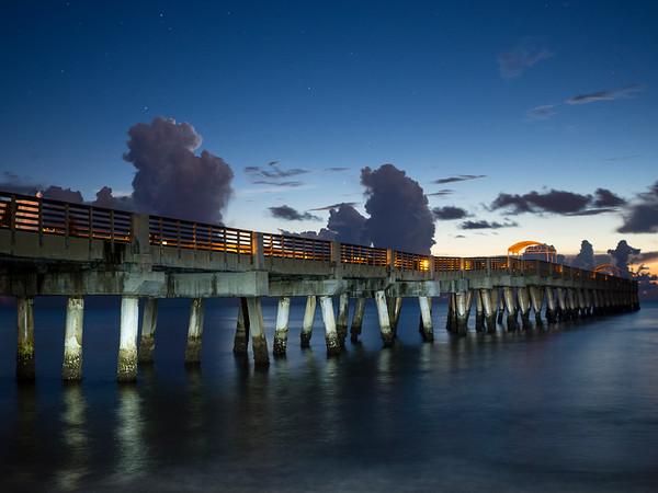 Sunrise Lake Worth Pier