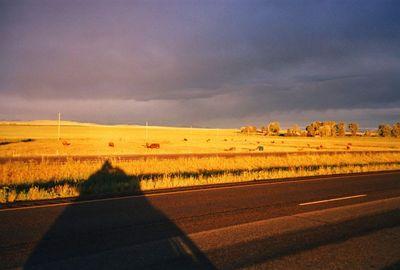 Sunrise,on I-94,Near Whitehall,MT,July20,2001