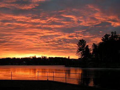 lake flower, Saranac Lake, NY, sunrise jan 2 2005c