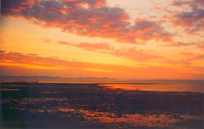 dawn, St Andrews, New Brunswick, july 1996a