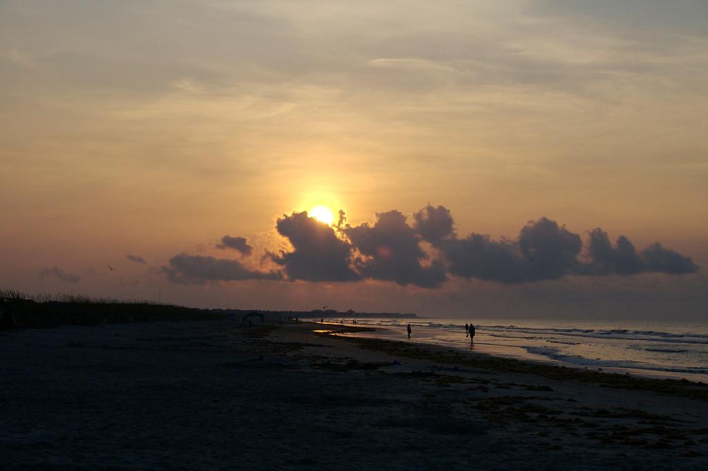 Sunrise at Isle of Palms - June 2007