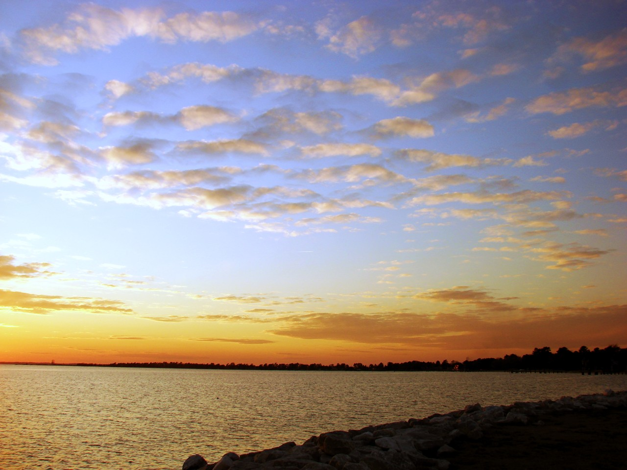 Sunset at Piney Point, MD