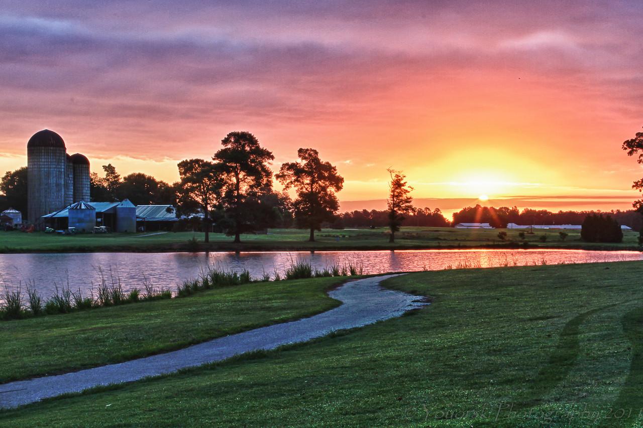 Sunrise on Path 7 17